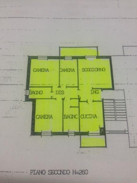 Feletto Umberto:  Vendesi appartamento tricamere biservizi , cantina e garage